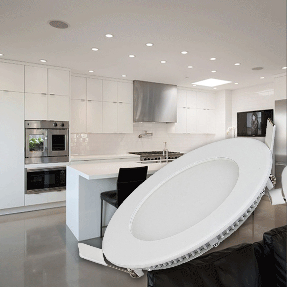 Turbo 2018 hause Dekoration Lampe 85-265 v Einbau LED Decke Panel Unten OD61