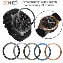 Bezel Ring Case For Samsung Galaxy 46mm/Gear S3 Frontier Protective Anti Scratch Metal Sticker watch accessioes