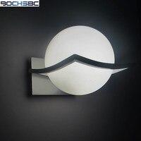 מיטת אור מנורת קיר אירופאי מודרני סלון מינימליסטי LED כדור זכוכית אורות קיר מנורות קיר לבית E27 AC 90 V-260 V