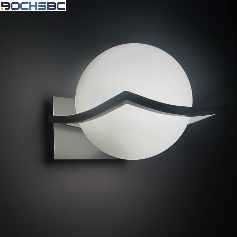 European Wall Lamp Bedside Light Modern Minimalist Living Room LED Wall Lamps Glass Ball Wall Lights for Home E27 AC 90V-260V modern magie glass ball led wall lamps art deco led wall lights bedroom bedside wall socnces light fixtures home decor luminaire