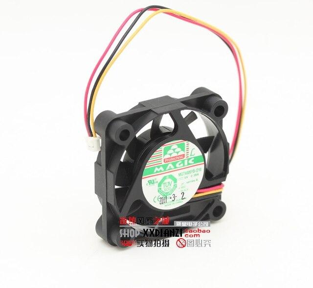 Nueva MGT4005YB-010 4010 0.38A 5 V doble bola de gran flujo de aire del ventilador de refrigeración