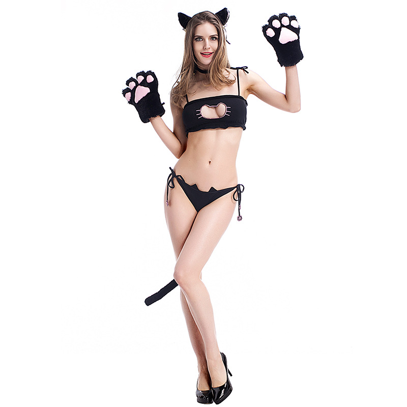 new halloween costume animal plush couples dress bear cosplay costume bar party dress sexy female witch - Halloween Costumes Prices