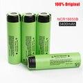 4 pcs original ncr 18650 baterias bateria li-ion bateria recarregável 3.7 v 3400 mah ncr18650b para panasonic frete grátis