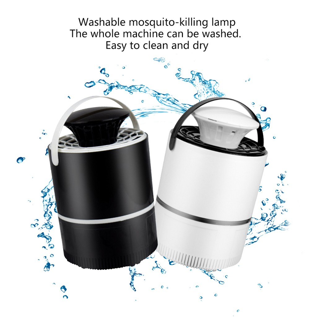 Image 2 - anti mosquito night light anti mosquito insect trap Mosquito Killer Light 5W USB Smart Optically Controlled Insect Killing Lamp-in Repellents from Home & Garden