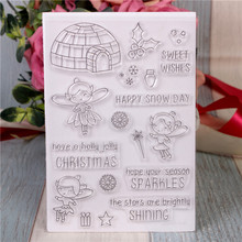Rubber Silicone Clear Stamps for Scrapbooking Tampons Transparents Seal Background Stamp Card Making Diy Cartoon spirit rubber silicone clear stamps for scrapbooking tampons transparents seal background stamp card making diy happy birthday