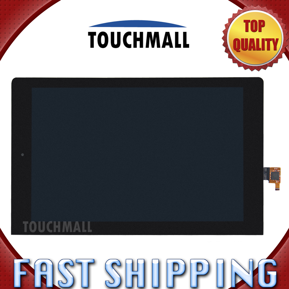 For New LCD Display Touch Screen Digitizer Glass Assembly Lenovo Yoga 10 B8000 Replacement 10.1-inch Black Free Shipping 100% original for lenovo s850e s850 lcd screen display with touch screen digitizer assembly black or white free shipping