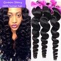 "7A Unprocessed Burmese Virgin Hair 4 bundle deals soft Burmese Loose Wave 8""-26"" in stock Loose Curly 100% Mink Human Hair Weave"