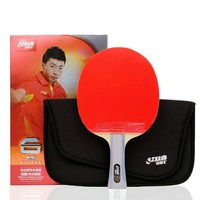 DHS A6002 A6006 6002 6 STAR Shakehand Table Tennis Racket (Shakehand) with Case for Ping Pong