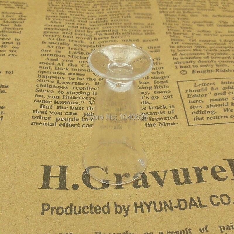 20pcs/lot kawaii little Icecream cup imitation PVC Plastic glass 36mm Artificial Parfait Cups Miniature Food Deco Part