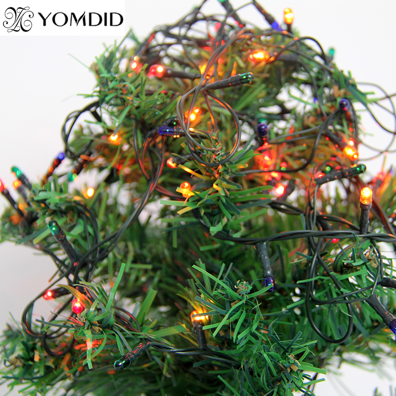 colorful decorative lights christmas decoration outdoor