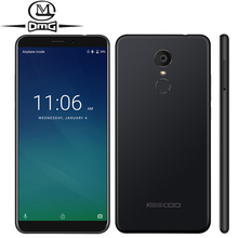 "KEECOO P11 18:9 Pantalla Completa Smartphone Android 7.0 5.7 ""2 GB RAM 16 GB ROM Quad Core 8MP Face ID IDENTIFICACIÓN de la Huella Digital del teléfono Móvil"