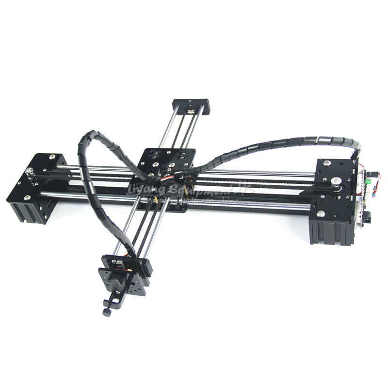 все цены на DIY LY drawbot pen drawing robot machine lettering corexy XY-plotter robot for drawing writing CNC V3 shield drawing toys