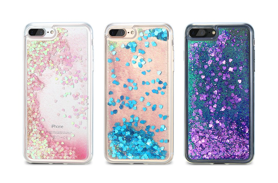 Glitter Quicksand Cover For iPhone 7 Plus For iPhone 6 6S Plus 5 5S SE Sequin Silicon Phone Cases (2)