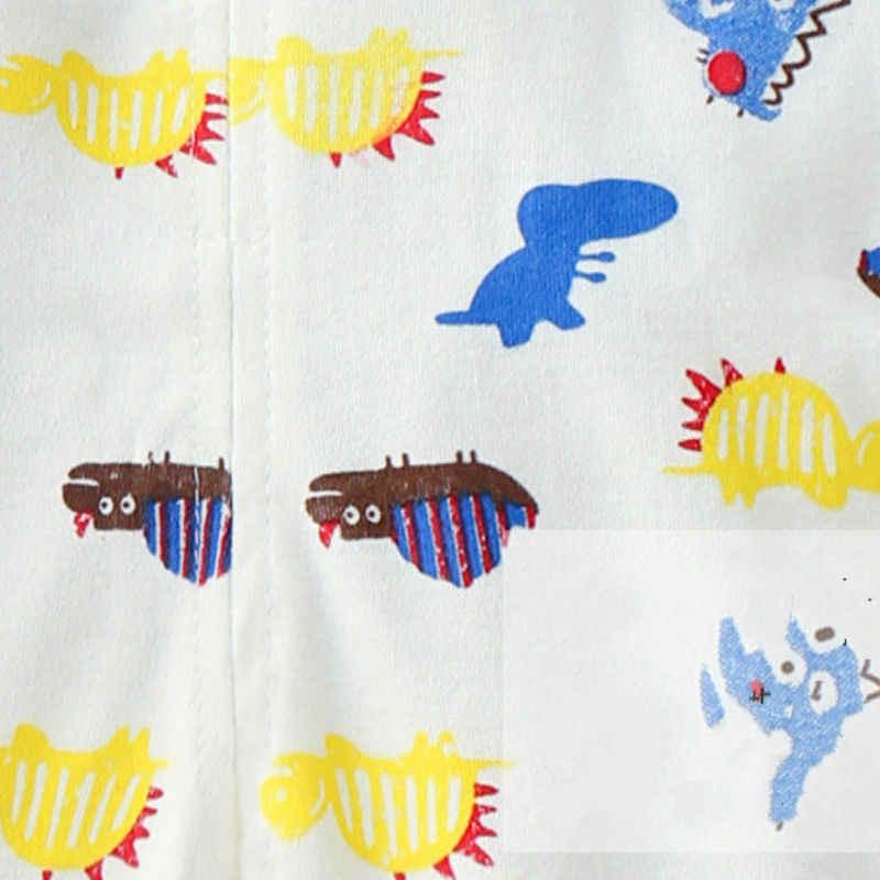 Hacia Unini-yun marca pantalones de algodón de bebé niñas niños Bebé Pantalones casuales pantalones de bebé niños ropa de niños de cintura alta nacidos Pantalones