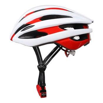 Mountain Bike Capacetes de segurança Adulto Capacete de Ciclismo de Estrada Homens Mulheres Integralmente-moldado Estrada Capacete Da Bicicleta Back Light