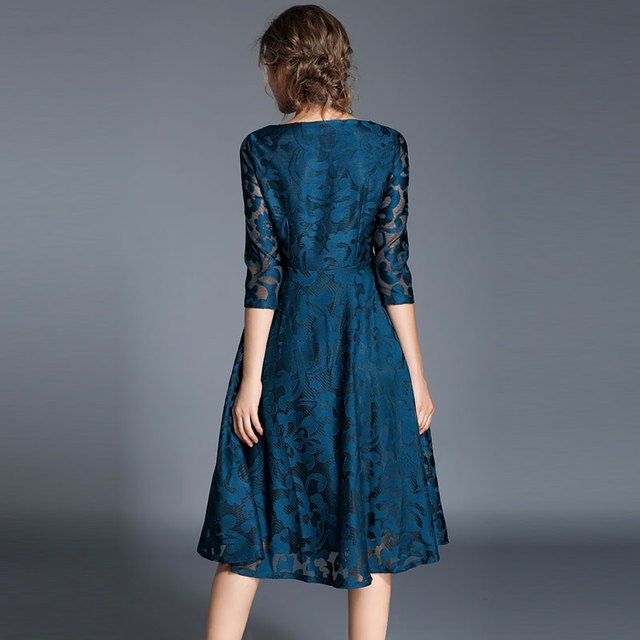 #Spring #Fashion Slim #Ladies Party #Dress #Women Casual Lace Dresses #boygrl 1