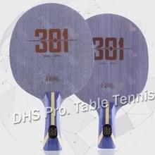 Оригинальное новое поступление DHS Hurricane 301 Arylate углеродное лезвие для настольного тенниса/лезвие для пинг-понга/бита для настольного тенниса