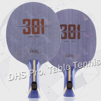 Nova chegada original dhs hurricane 301 arylate carbono ténis de mesa lâmina/ping pong lâmina/ténis de mesa bat
