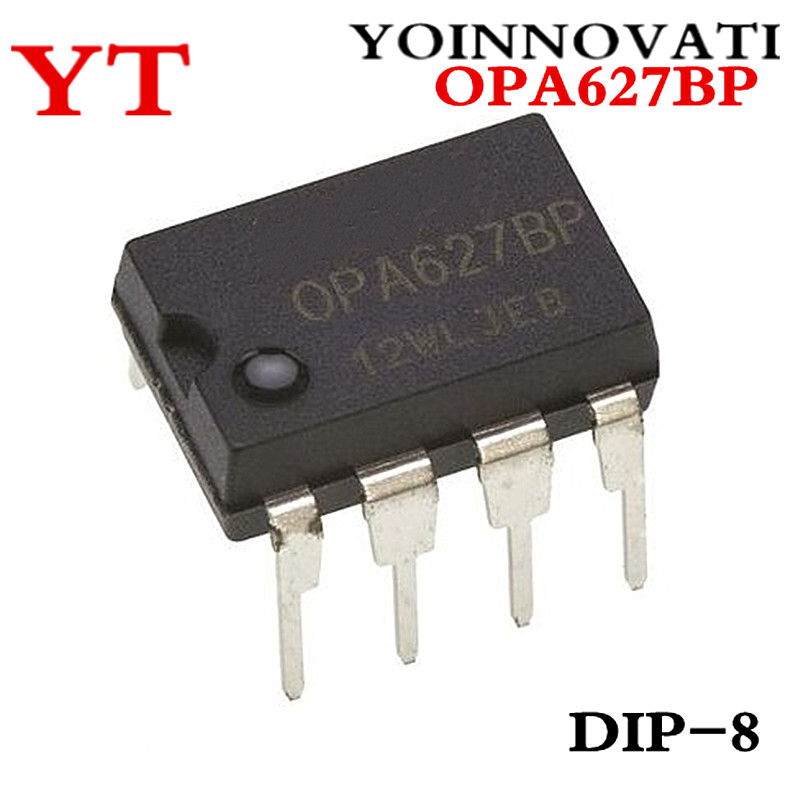 Free Shipping 2pcs/ Lot OPA627BP OPA627 DIP8 IC Best Quality