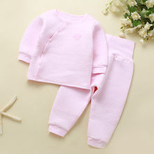 6dad0ca262e1a Hiver bébé ensemble coton hiver bébé vêtements ensemble tenues Bebes  costumes dessus chaud pantalon infantile nouveau