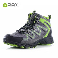 Rax Camping Hiking Shoes For Men Breathable Mountain Climbing Shoes Outdoor Anti Skid Sneakers Men Wearable Trekking Boots D0543