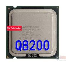 Lifetime warranty Core 2 Quad Q8200 2.33GHz 4M Four nuclear threads desktop processors CPU Socket LGA 775 pin Computer