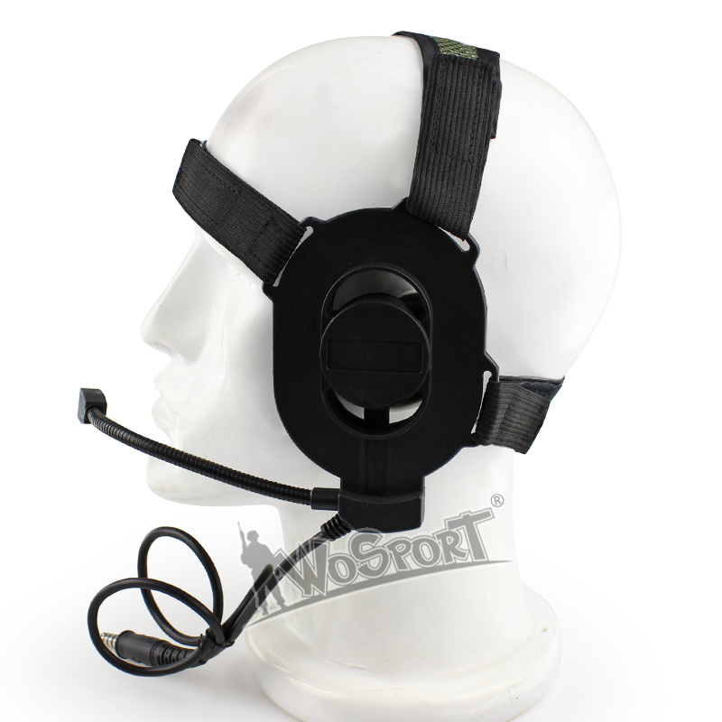Wosport Hd03 Tactical Noise Reduction Headset Ii With Airsoft Mic