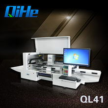Qihe SMT Line Senior Supplier For SMD Mounting Machine Easy To Be Operated Manual Pick and Place Machine With Conveyor