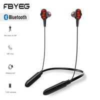 FBYEG B800 Bluetooth ヘッドセットワイヤレスイヤホンで Sweatproof スポーツヘッドホンステレオ低音インナーイヤー型マイク睡眠のための ASMR Bluetooth イヤホン & ヘッドホン    -