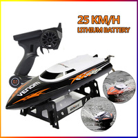 RC Boat Bateau One Propeller Remote Control Boats Remote Control Toys 2.4GHz 4CH Water Cooling High Speed RC Speed FSWB