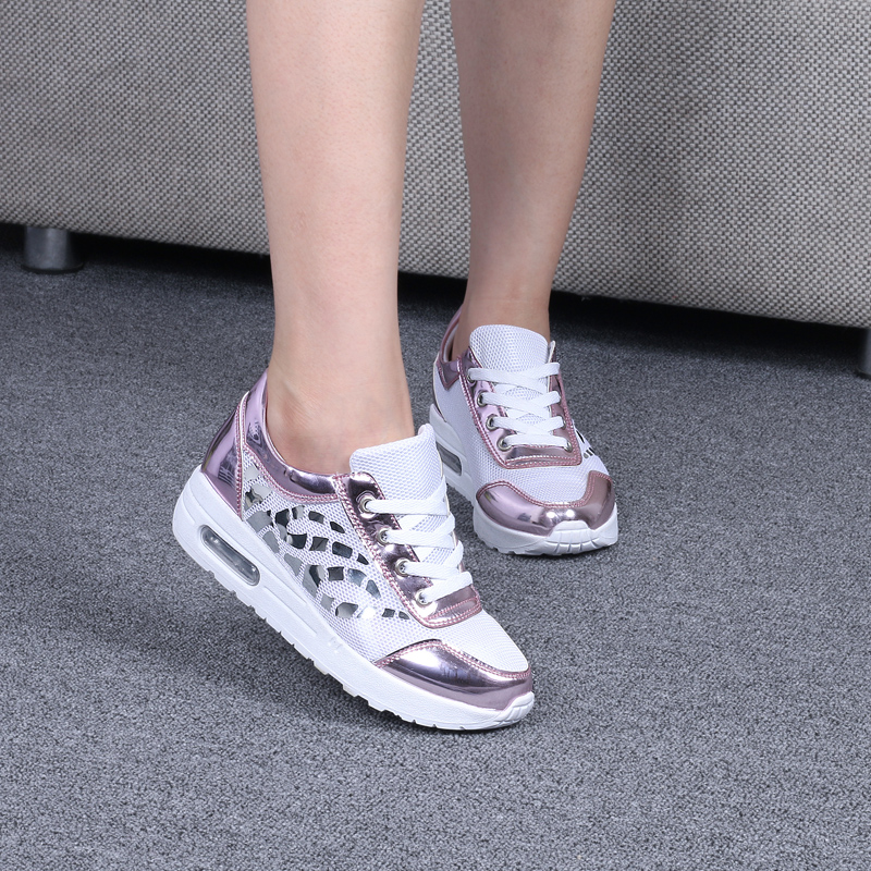 Trainers Women Casual Shoes Summer Style Outdoor Breathable Low Top Shoes Woman Flat Heels Sport Ladies Shoes Size 35-40 ZD71 (12)