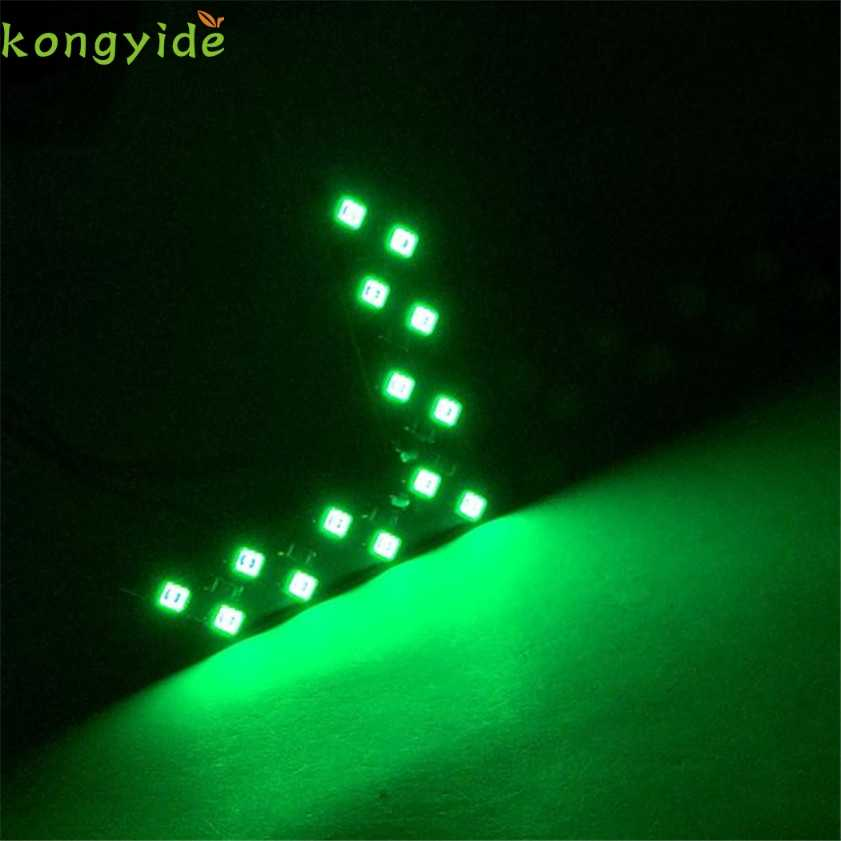 Yeni 14 SMD LED Ok Paneli Için Araba Dikiz Aynası Gösterge Açın sinyal ışığı araba aksesuarları