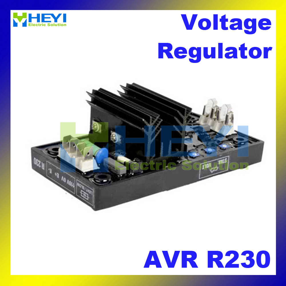 Leroy Somer AVR R230 Generator Automatic Voltage Regulator