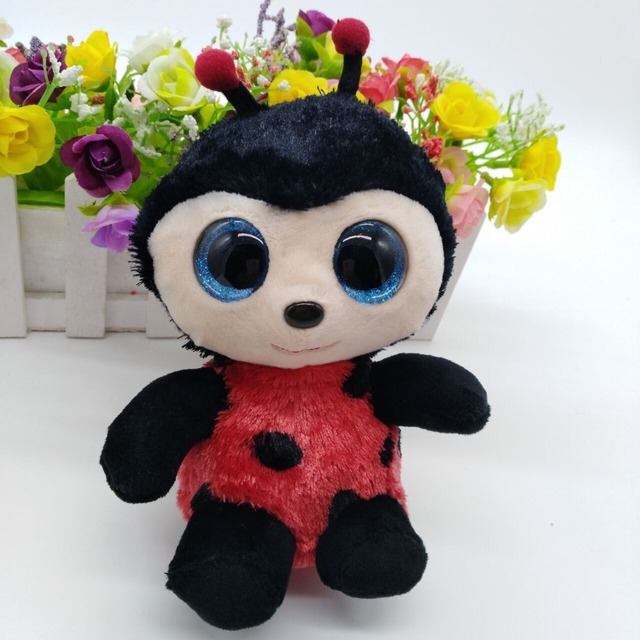 eebebf57ca7 IZZY lady bug TY BEANIE BOOS collection 15CM 6