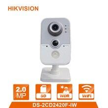 English Version HIK WiFi Camera DS 2CD2420F IW 1080P Wi Fi Home Security Camera 2MP IR