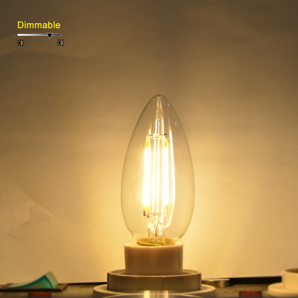 lamp lense bulb candle products chandelier dc light pack clear led