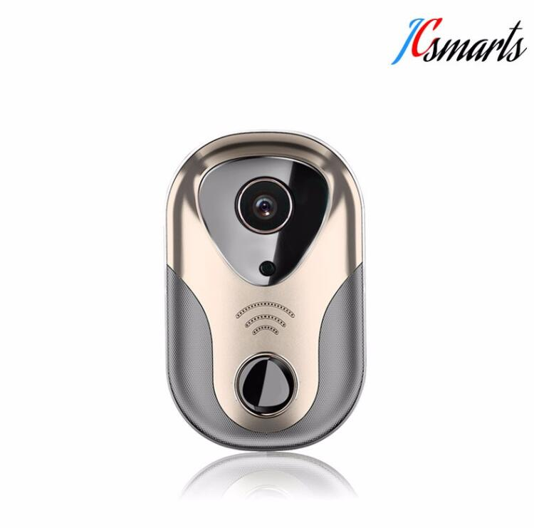 720p wireless intercom wifi doorbell app remote control for Door viewer camera