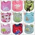 Free Shipping 30 Pieces/lot Baby Cotton Bib animal style cotton waterproof towel baby cartoon bib 80 patterns for choice