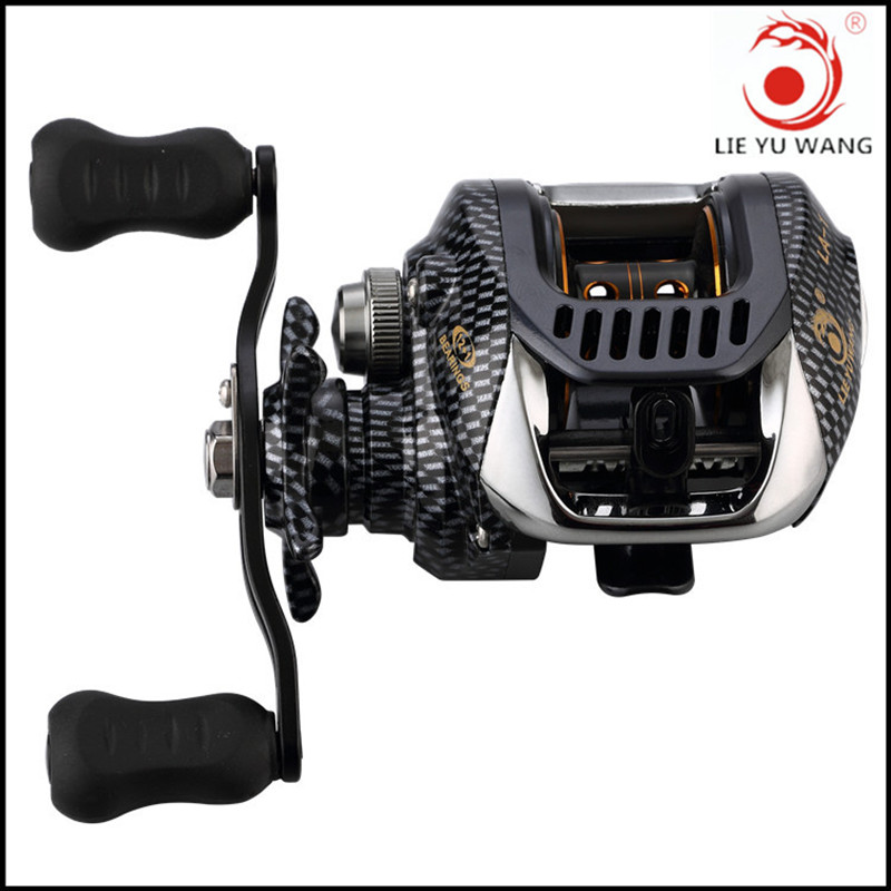 2017 New LIEYUWANG Brand Spartacus Right OR Left Hand Bait Casting Fishing Reel 12BB+1 6.3:1 200g Baitcasting Reel free shipping trulinoya 10 1 bb 6 3 1 baitcasting fishing reel bait casting baitcast caster right or left hand new dw1000