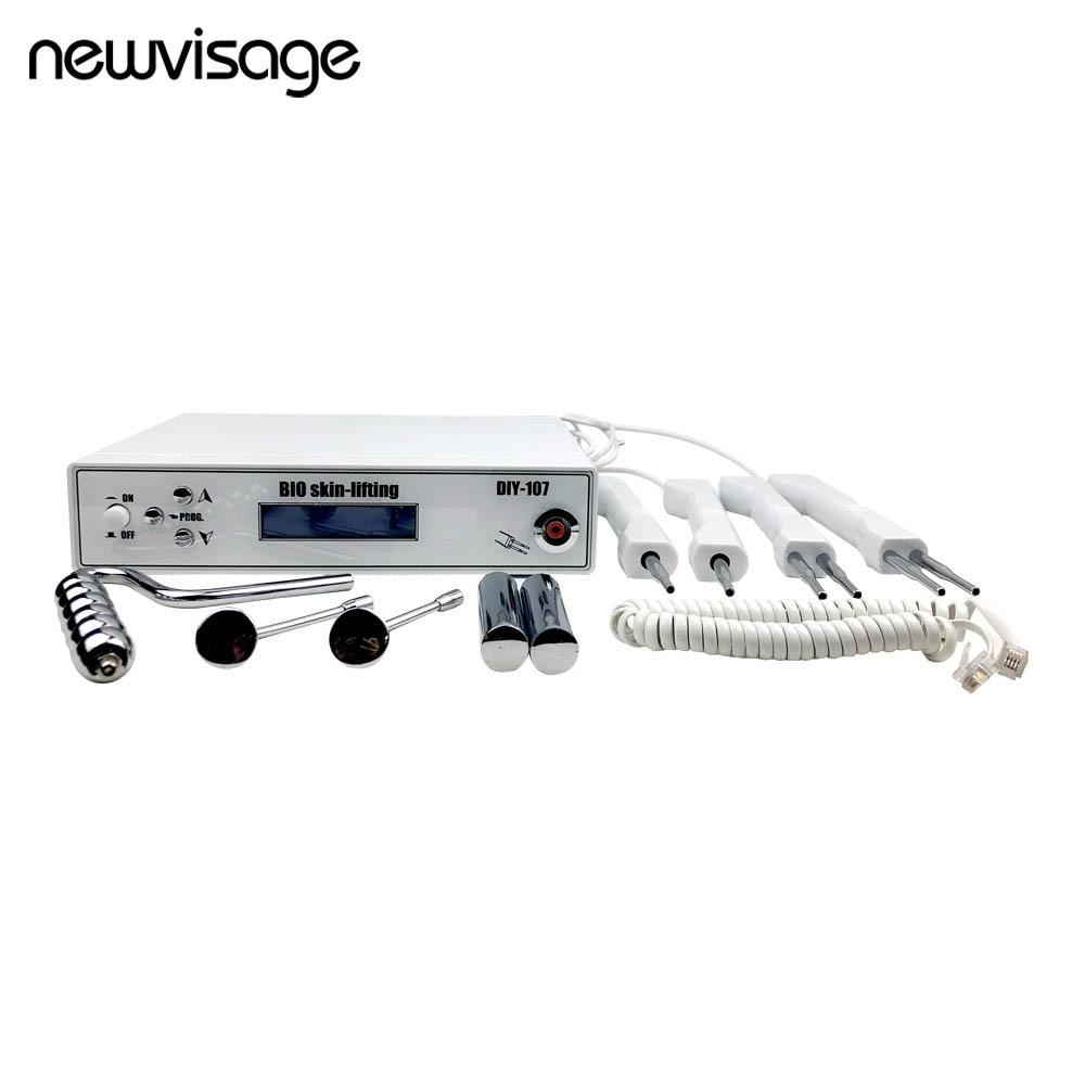 Máquina de Micro Estimulação Elétrica Rosto Corpo Cuidados Com A Pele BIO Levantamento Apertar A Barriga Da Perna Dispositivo de Massagem Facial Remoção Do Enrugamento