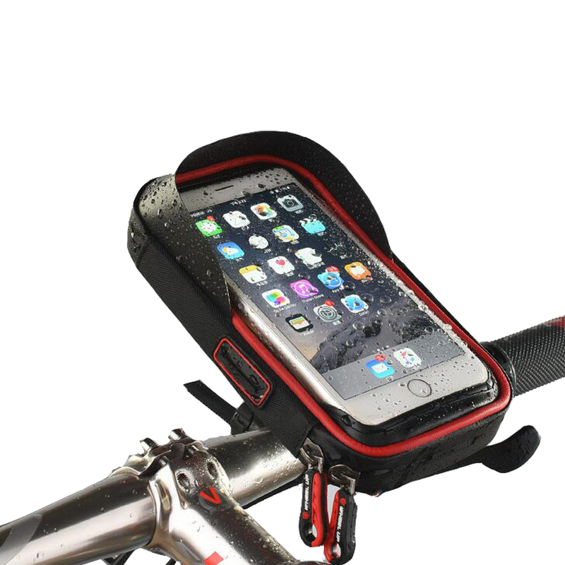 Touch Screen TPU Waterproof Cycling Bike Bicycle Bag For MTB Mountain Road Bike Cycling Mobile Phone Holder Bag Case
