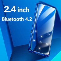 New 8GB 16G Bluetooth MP3 Player 2.4 TFT Color Screen FM Voice Recorder Lossless Sound Music Player Touch button with Backlight