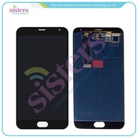 Wholesale Black White LCD Display Touch Screen Digitizer Full Assembly For Meizu MX5 MX 5