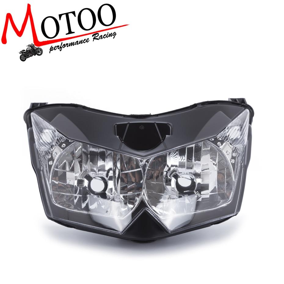 Motoo-livraison gratuite phare avant phare pour Kawasaki Z1000 Z 1000 2007 2008 2009Motoo-livraison gratuite phare avant phare pour Kawasaki Z1000 Z 1000 2007 2008 2009