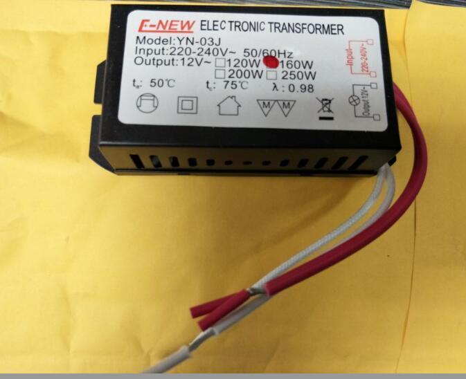 3 Year Warranty New G104 160W Input AC 220V Output Ac 12V Halogen Light LED Driver Power Supply Converter Electronic Transformer