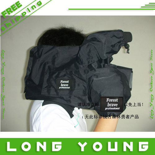 SLR cameras Rain Cover Coat Bag waterproof case covers for sony HD1000C/MC1500C 130mc160mc260mc lowepro protactic 450 aw backpack rain professional slr for two cameras bag shoulder camera bag dslr 15 inch laptop