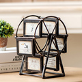 Ferris Wheel Rotate Picture Multi-Frame European Retro Large Windmill Children Room Photo Frames Wedding Home Decor