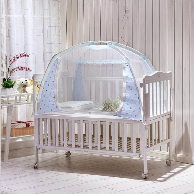 Hot Children Infant Baby Bed Canopy Playpen Floding Mosquito Nets Portable Crib  Bed Netting Tent Mosquiteiros