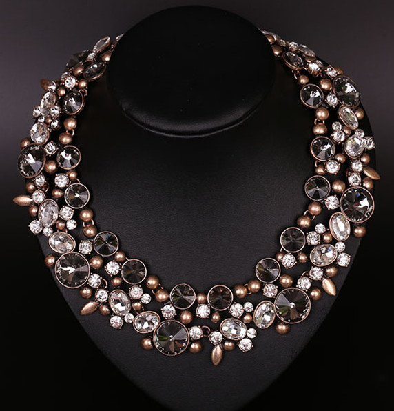 N00045 2015fast shipping necklaces pendants trend fashion western n00045 2015fast shipping necklaces pendants trend fashion western chunky choker necklace statement women jewelry mozeypictures Image collections