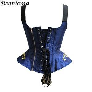 Image 4 - Corpete corpetes e corpetes de casamento corpetes e corpetes sexy corset corpete de renda bordado